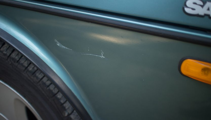 scratched car repair